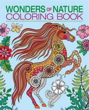 Wonders Of Nature Coloring Book By Patience Coster