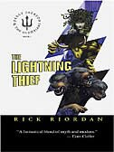 Book The Lightning Thief by Rick Riordan
