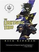 Book The Lightning Thief by Rick Riordan
