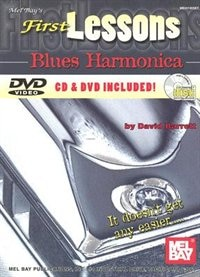 First Lessons Blues Harmonica Book/cd/dvd Set