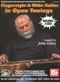 Fingerstyle & Slide Guitar in Open Tunings  Book/3-CD Set