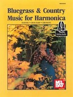 Bluegrass And Country Music For Harmonica Book