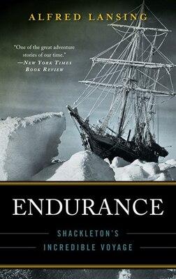 Book Endurance: Shackleton's Incredible Voyage by Alfred Lansing