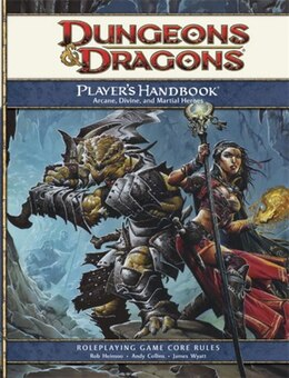 Book Player's Handbook: A 4th Edition Core Rulebook by Wizards Rpg Team
