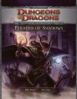 Book Pyramid Of Shadows: Adventure H3 by Mike Mearls