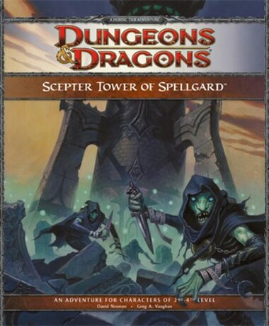Scepter Tower of Spellgard: A Forgotten Realms Adventure For 4th Edition D&d