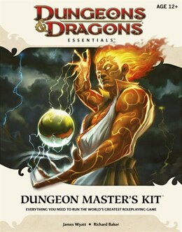 Book Dungeon Master's Kit: An Essential Dungeons & Dragons Kit by James Wyatt