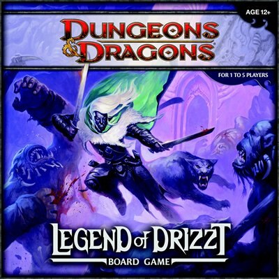Legend Of Drizzt Board Game: A Dungeons & Dragons Board Game by Wizards Rpg Team