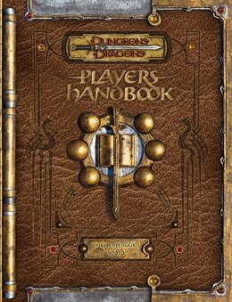 Book Premium Dungeons & Dragons 3.5 Player's Handbook With Errata by Wizards Rpg Team
