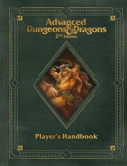 Book Premium 2nd Edition Advanced Dungeons & Dragons Player's Handbook by Wizards Rpg Team