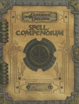 Book Premium 3.5 Edition Dungeons & Dragons Spell Compendium by Wizards Rpg Team
