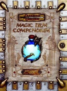Book Premium 3.5 Edition Dungeons & Dragons Magic Item Compendium by Wizards Rpg Team