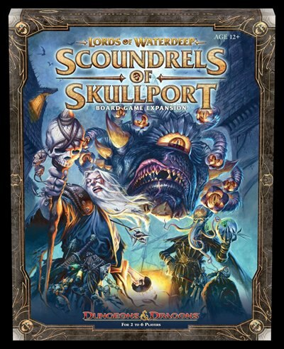 Lords Of Waterdeep Expansion: Scoundrels Of Skullport by Rodney Thompson
