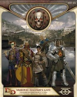 Book Murder In Baldur's Gate: Sundering Adventure 1 by Ed Greenwood