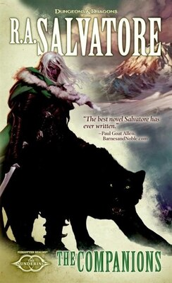 Book The Companions: The Sundering, Book I by R. A. Salvatore