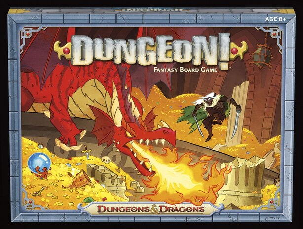 Dungeon! Board Game by Wizards Rpg Team