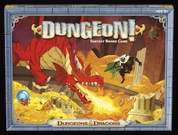 Book Dungeon! Board Game by Wizards Rpg Team
