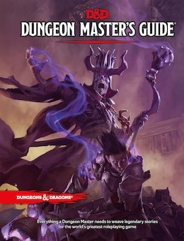 Book Dungeon Master's Guide by Wizards Rpg Team