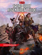 Book Sword Coast Adventurer's Guide by Wizards Rpg Team