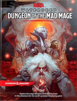 Book Dungeons & Dragons Waterdeep: Dungeon Of The Mad Mage (adventure Book, D&d Roleplaying Game) by Wizards Rpg Team