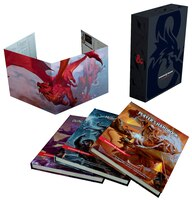 Dungeons & Dragons Core Rulebooks Gift Set (special Foil Covers Edition With Slipcase, Player's…