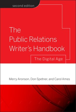 Book The Public Relations Writers Handbook: The Digital Age by Merry Aronson