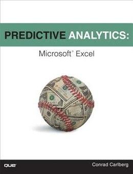 Book Predictive Analytics: Microsoft Excel by Conrad Carlberg
