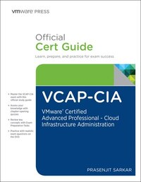 Vcap-cia Official Cert Guide (with Dvd): Vmware Certified Advanced Professional On Cloud…