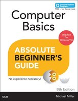 Book Computer Basics Absolute Beginner's Guide, Windows 10 Edition (includes Content Update Program) by Michael Miller