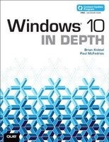 Book Windows 10 In Depth (includes Content Update Program) by Brian Knittel