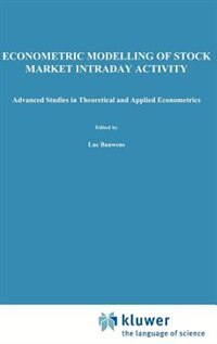 Econometric Modelling of Stock Market Intraday Activity