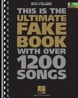 The Ultimate Fake Book: E-flat Edition