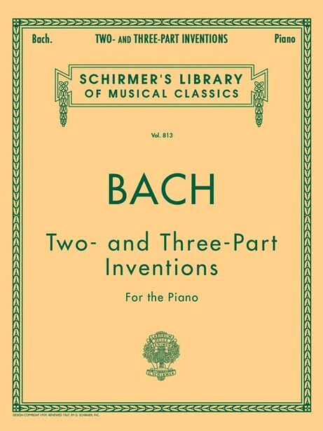 15 Two- and Three-Part Inventions: Schirmer Library of Classics Volume 813 de Carl Czerny