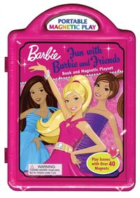 Fun with Barbie and Friends: Book and Magnetic Playset