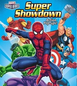 Book Super Showdown: with Action Pop-Ups by Marvel