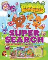 Moshi Monsters Super Search: Picture Puzzles, Mazes, and More