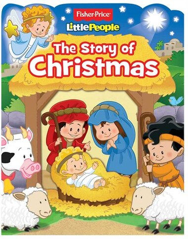 Fisher Price Little People The Story Of Christmas