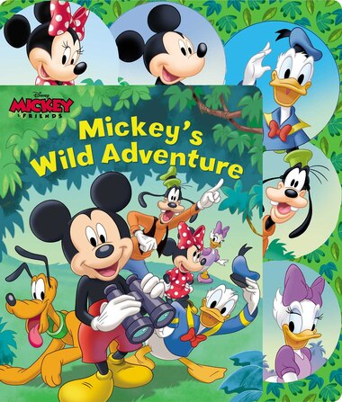 Disney Mickey Mouse: Mickey's Wild Adventure by Maggie Fischer