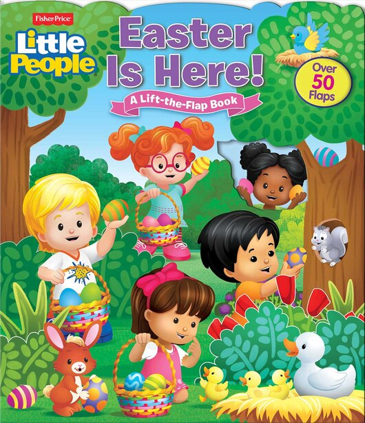 Fisher-price Little People: Easter Is Here! by Susan Hall
