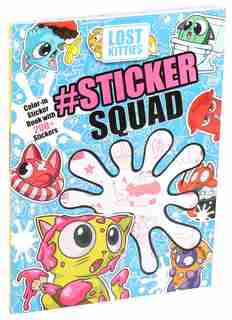 Hasbro Lost Kitties #Sticker Squad Color-In Sticker Book by Editors of Studio Fun International