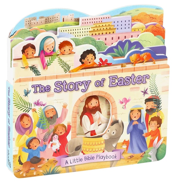 Little Bible Playbook: The Story Of Easter by Katya Longhi