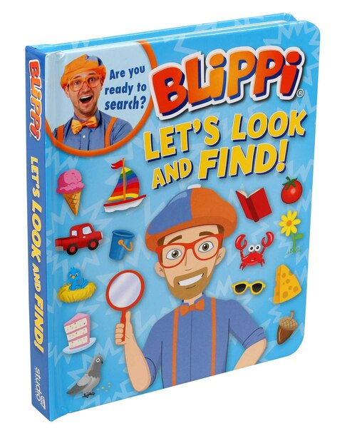 Blippi: Let's Look And Find by Editors of Studio Fun International