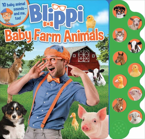 Blippi: Baby Farm Animals by Editors of Studio Fun International