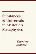 "Substances and Universals in Aristotles ""Metaphysics"""