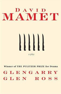 Book Glengarry Glen Ross by David Mamet