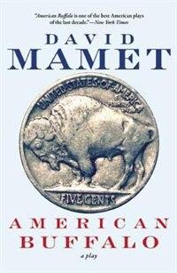 Book American Buffalo by David Mamet