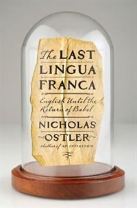 Book The Last Lingua Franca by NICHOLAS OSTLER