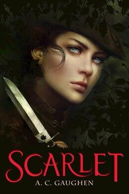 Book Scarlet by A.C. Gaughen