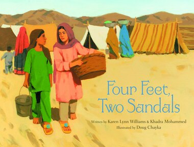 Four Feet, Two Sandals by Karen Lynn Williams