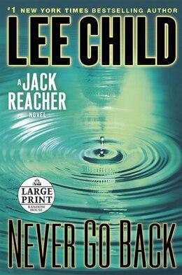 Book Never Go Back: A Jack Reacher Novel by Lee Child